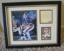 Vintage Phil Simms Framed & Numbered Lithograph New York Giants Rare