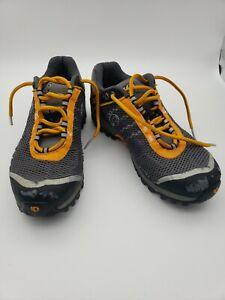 Pearl Izumi Men's EU 40/US 7 Cycling Shoes X-Alp Seek Grey Orange Mountain