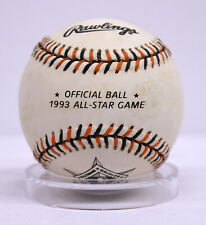 1993 All Star Game Official MLB Rawlings Baseball Ball Baltimore Orioles
