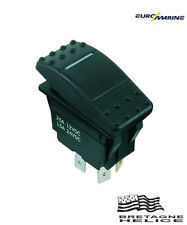 INTERRUPTEUR ETANCHE A BASCULE ON/OFF 3 CONTACTS IP67 EUROMARINE 002861