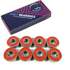 Cal 7 Abec7 Pro Longboard Skateboard Bearings (8 pcs) + Spacer