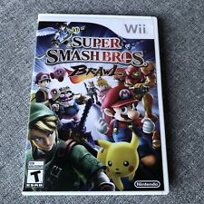 Super Smash Bros. Brawl (Nintendo Wii, 2014, NTSC) Shipped With Tracking