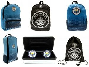 Manchester City Rucksack Backpack Gymbag Bootbag Junior School Bag Official