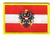 Aufnäher Österreich Adler Patch Flagge Fahne