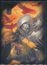 2010 Marvel Heroes and Villains Trading Card #79 Moon Knight vs. Scarecrow
