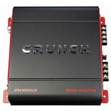 Crunch PX 1000.2 POWERX AMP, classe AB, 2 CANALI 1000 WATT MAX Boost SOUND!!