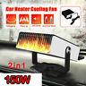 12V 150W Portable Electric Car Heater DC Heating Fan Defogger Defroster Demister