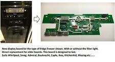 Whirlpool Fridge Freezer Front Display Board PCB Improved Version, Suits Others