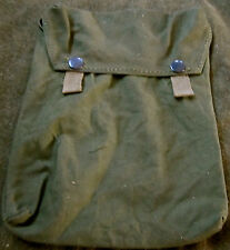 WWII GERMAN M1931 M31 GAS MASK CANISTER SHEET CARRY BAG