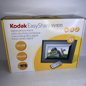 "Kodak Easy Share SV1011 128MB 10"" Digital Picture Frame Built In Speakers"