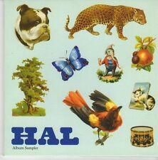 (EB69) HAL, 5 track Album Sampler - 2004 DJ CD