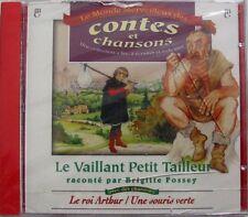 BRIGITTE FOSSEY (CD) LE VAILLANT PETIT TAILLEUR - NEUF SCELLE