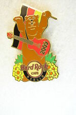 BERLIN,Hard Rock Cafe Pin,SPRING IN BERLIN Bear