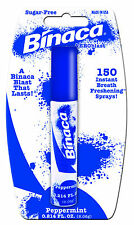 BINACA Aeroblast (peppermint) - Fresh Breath Spray Blasts Away Bad Breath