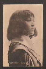 ARTISTE CINEMA / Mlle Pierrette MAD , Buste