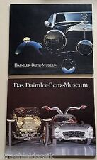 El Daimler Menz museo y Daimler Benz Museum 1987 dos veces MB historias