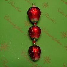 Christopher Radko Prototype Strawberry Fields Glass Ornament