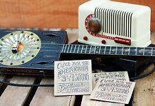 Cigar Box Guitar  3 String Old Time Jukes Blues cd Slide dobro Americana