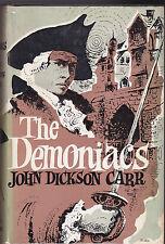 John Dickson Carr - The Demoniacs - 1st/1st 1962 - Sterne, Fielding, Mystery