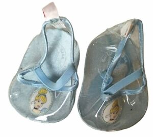 BABW Build-a-Bear Disney Cinderella Blue Sparkly Slipper Shoe Animation Cameo