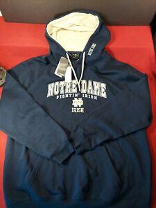 Notre Dame Fighting Irish 2XL Pullover Hoodie NEW Sweatshirt Colosseum