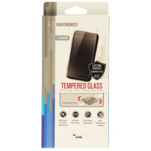RandomOrder Tempered Glass Screen Protector for the LG K8 - Clear