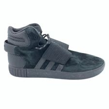 Adidas Mens Tubular Invader Shoes Strap Sneakers Black High Top BB1398 11.5 New