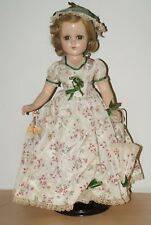 "SO PRETTY! All Original 17"" Nancy Lee Southern Girl Composition Doll"