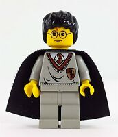 LEGO Harry Potter in Gryffindor Uniform & Cape w/ Stars Minifig