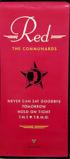 THE COMMUNARDS 1987 'RED' RARE PROMO POSTER