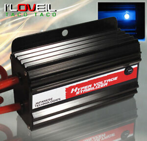 JDM Black Battery Volt Voltage Stabilizer Ecu System For Toyota Camry Matrix Mr2