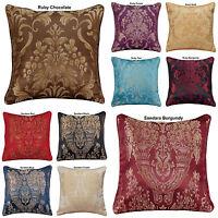 "New Decoration Home Cushion Covers Sofa Cushion Jacquard 18""x18"" In 10 Colours"