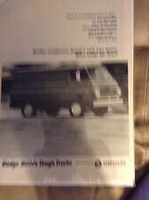Original 1965 Dodge Van Magazine  Ad -  Way Settle for Less
