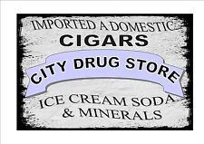 American Style Farmacia firmar Farmacia firmar Helado Signo Signo De Soda
