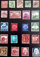 ANTIQUE RARE COLLECTIBLE SET OF GERMAN GERMANY POSTAGE STAMPS