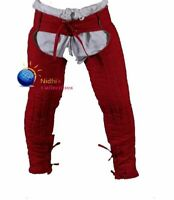 Medieval Hood W Collar Thick Padded  cotton Gambeson theater costume sca larp
