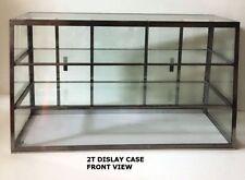 NEW! CARIB DISPLAY CO.  2T GLASS BAKERY DISPLAY CASE