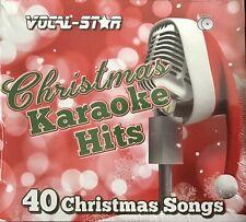More details for vocal star christmas karaoke hits 2 cdg discs 40 christmas songs bnwt