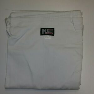 judo trousers white 100% cotton bleached to clear