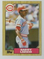 1987 87 Topps Barry Larkin Rookie RC #648, Cincinnati Reds, HOF
