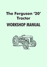 Ferguson TE20 Tractor Manual (Gris Fergy)