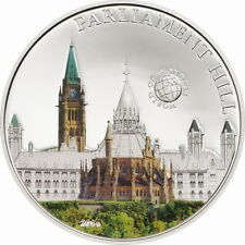 Palau 2014 Parliament Hill 5 Dollars Silver Coin,Proof
