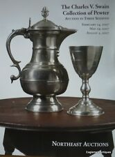 Pewter Auction Catalog:  Charles V. Swain Collection, 2007