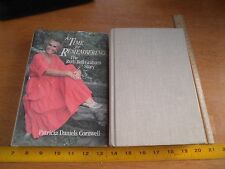 A Time for Remembering Ruth Bell Graham 1st Edition 1st HBDJ Patricia D Cornwell