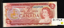 CANADA 1974 QUEEN ELIZABETH II REPLACEMENT $2 BANKNOTE CIRCULATED BC-47aA