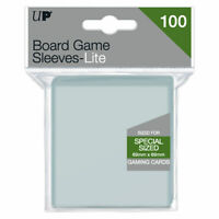 200 Ultra PRO /'Catan/' Board Game Card Sleeves Clear Size 54 x 80mm 4x 50ct
