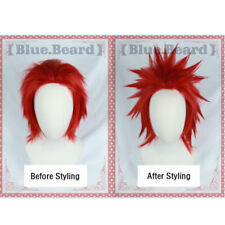 My Boku no Hero Academia Eijirou Kirishima red Cosplay hair wig +free wig cap