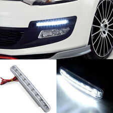 2 x Universal 8W 12V 8 LED Car Daytime Running Light Spot Light Driving Light