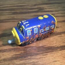 Brewster Train Blue Chuggington Die Cast Metal TOMY Brio Muddy Brewster Engine