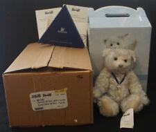 """2008 Steiff 10"""" Flurrie The Swarovski Bear W/ Crystal - EAN 681295 - NIB"""